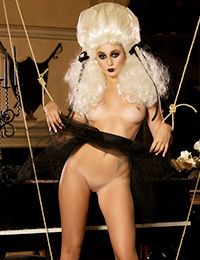 Ariana marie makes for a great marionette as she shows off her hotness.
